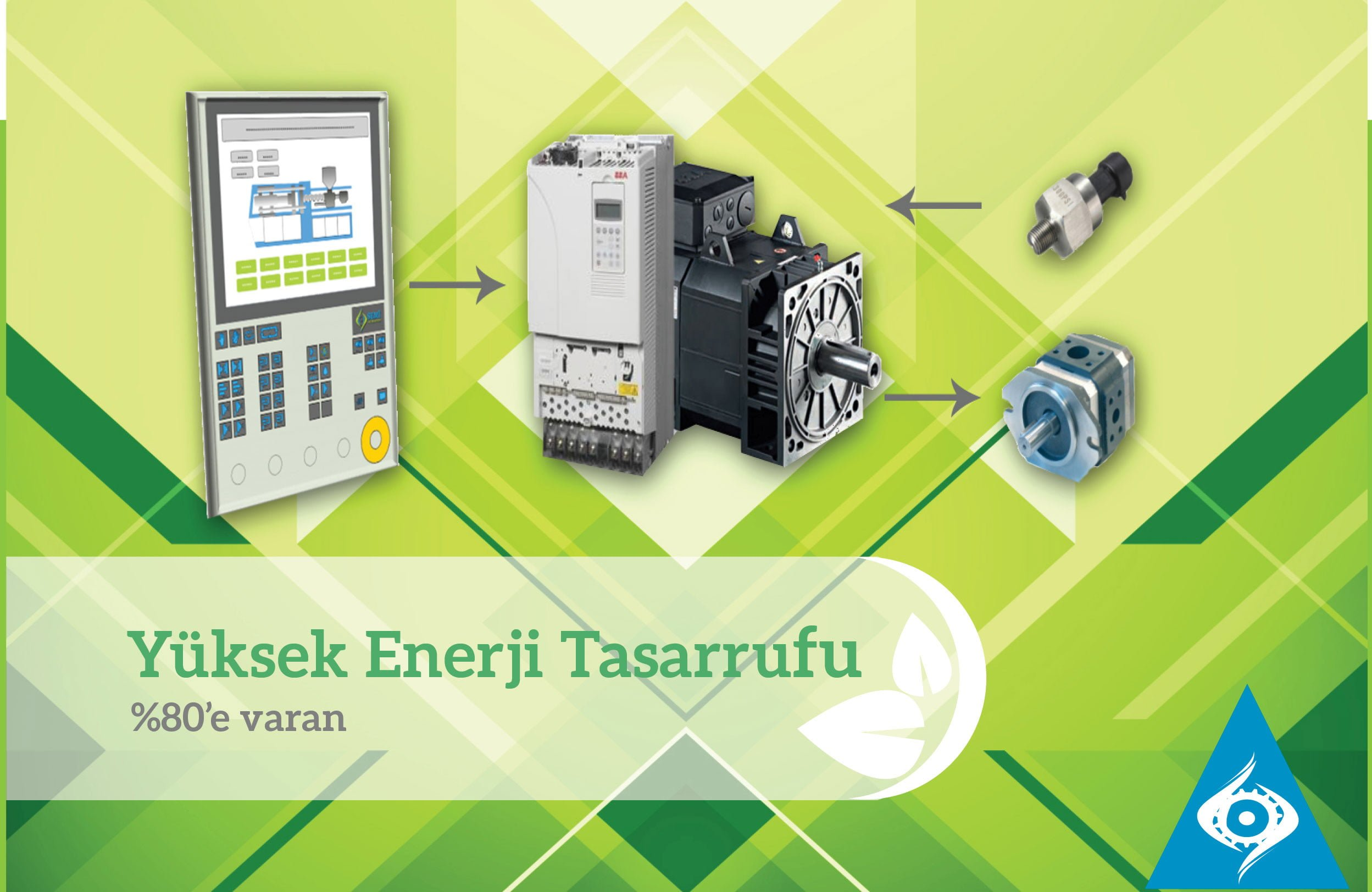 enerji tasarrufu enjeksiyon hidrolik